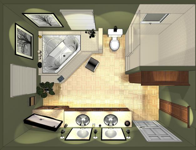 Buchanan kitchen and bath frequenty asked questions Top view of bathroom